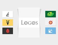 Game of Thrones - Modern Logos