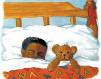 """Illustration for Children's book, """"Jordon and Me"""""""