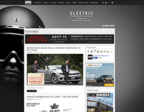 Electric Home Page Take Overs