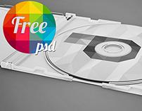 Free cd mock up