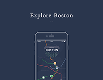 Explore Boston - Map Interaction