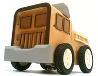 Franky The Wooden Firetruck