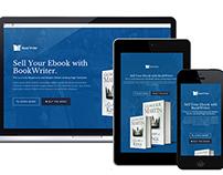 BookWriter Landing Page