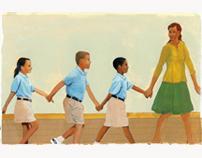 """Illustration for """"I am Barack Obama"""" Children's book"""