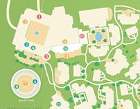 Map of the Bacara Resort & Spa   ONTRApalooza 2013