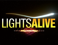 LightsAlive.com 10 Second Logo (Video)