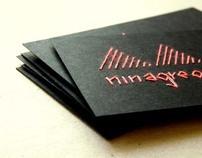 handmade promo cards