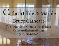Cathcart Tile and Marble Business Cards