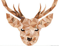 Low Poly Deers