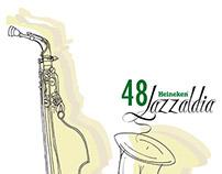Cartel para concurso de Jazzaldia 2013
