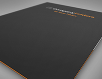 [Free PSD] Front Cover Folder Mockup Template