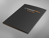 [Free PSD] Back Cover Folder Mockup Template