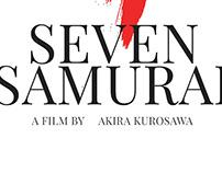 Movie Poster #1 - Akira Kurosawa