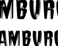 Hamburge Font Design
