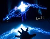 Watchmen, Interactive Multi Touch Hologram.