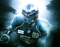CFL: AJ Guyton, EDM Eskimos Photo Retouch