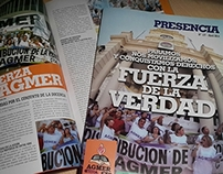 Diseño Editorial Revista Presencia