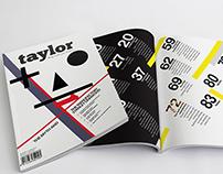 Taylor Magazine Layout