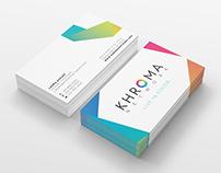 Khroma Network / Rebranding
