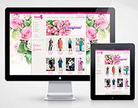 E-commerce clothes shop