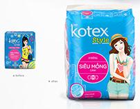 Kotex Style Packaging