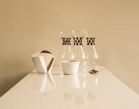 coffee carafes by Laura Jahnke.