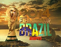 FIFA World Cup 2014 ESPN OPENING INTRO