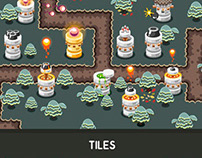 "Tower Defence Game Tile Set ""Castles"""