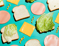 Office Lunching Habits for NEON Magazine