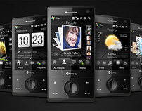 HTC Touch FLO 3D UI Design