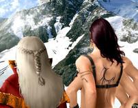Wizard and Naga