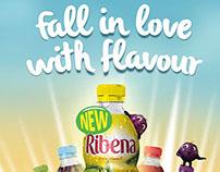Ribena Online and DOOH Ads