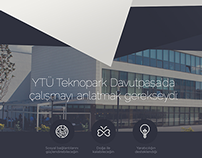 Ziraat Teknoloji - One Page Website / Redesign