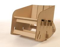 Cardboard Rocking Chair