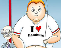 somewhere in hamburg