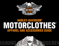 Harley-Davidson Motor Clothes Catalogue
