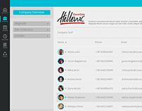 UI for ShiftPlanning Inc. shift change app