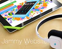 Website for Music Studio App