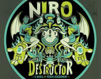 Niro the Destructor Mural
