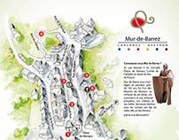 Carte de Mur de Barrez