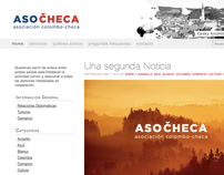 Branding + website for Colombian/Czech NGO Asocheca