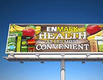 Enmark Fresh & Healthy Billboard Campaign Final
