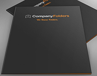 [Free PSD] Casually Laid Folders Mockup Template