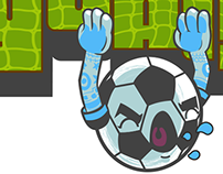 GOAL! soccer sticker pack