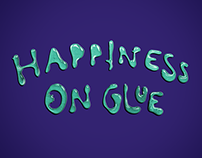 Happiness on glue wallsticker collection