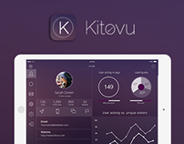 Kitovu IOS 8 UI/UX Tablet Design