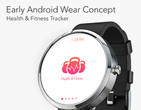 Android Wear - Health & Fitness Tracker