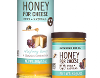 Savannah Bee Honey Packaging