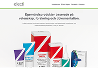 Electi Medicals Website
