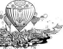 illustration for :  Ahuja Calendar